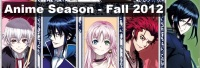 Anime Season - Fall 2012